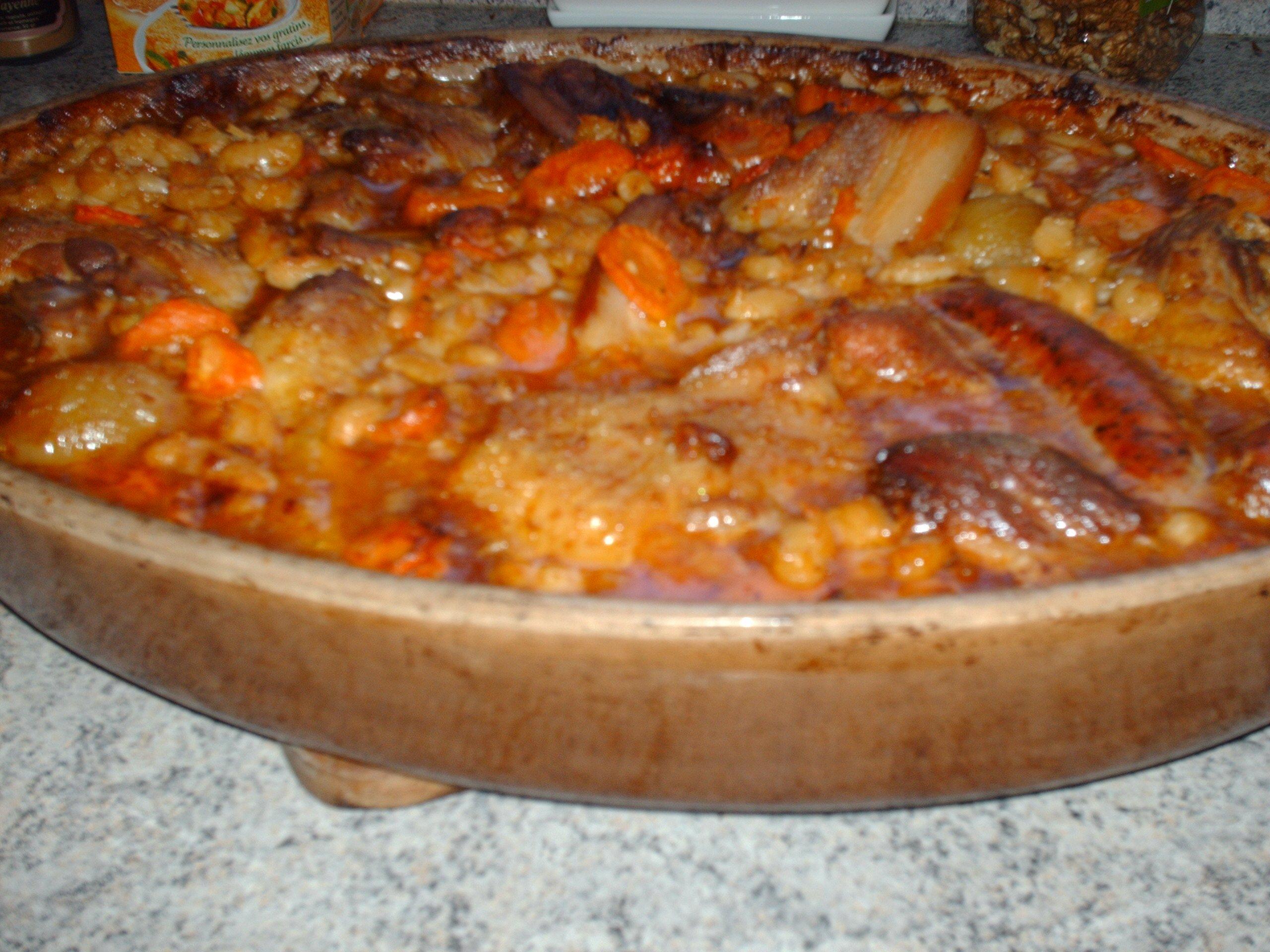 Cassoulet maison  Les recettes de Domi - gourmande.. passionnée