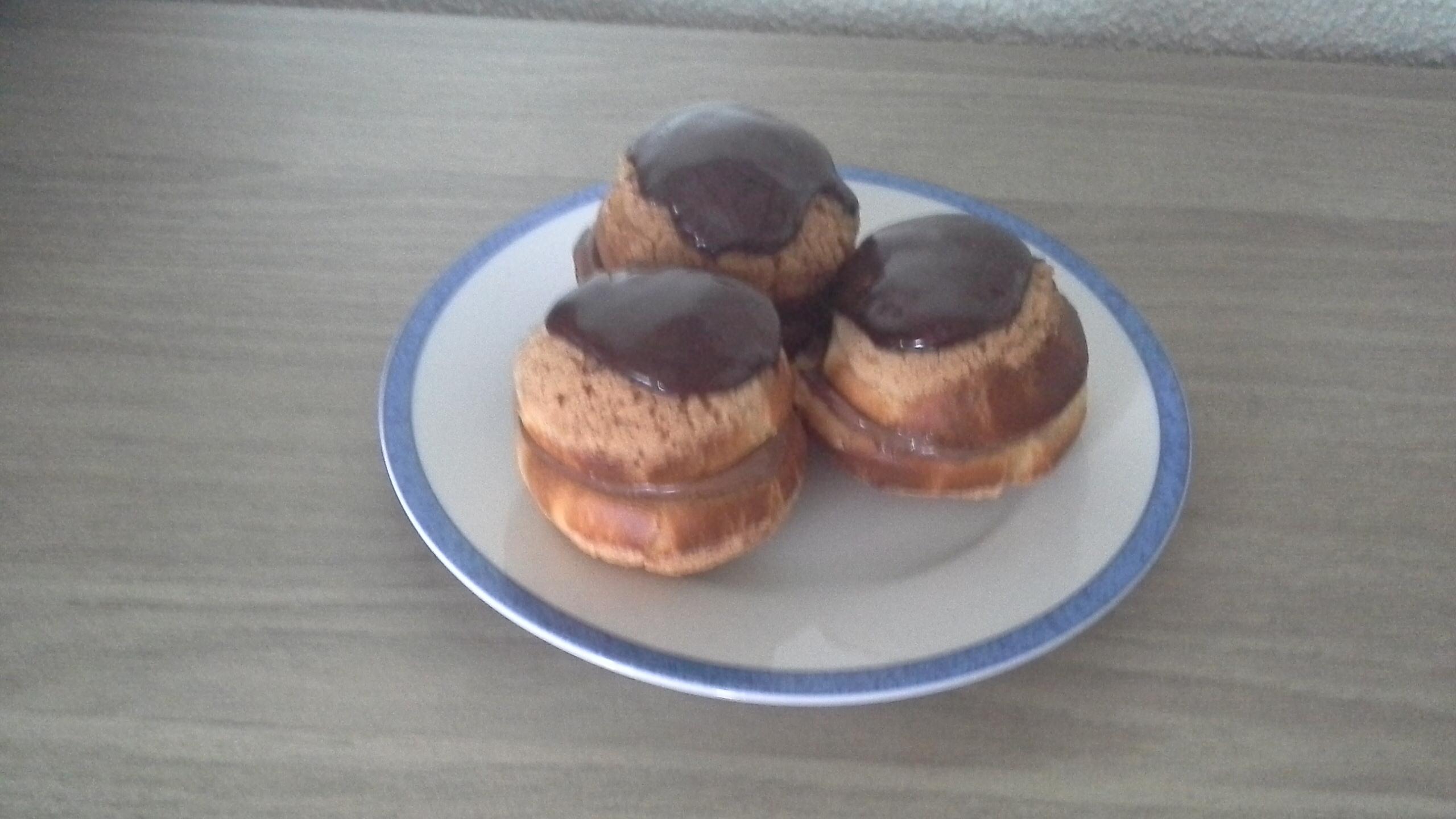 choux craquelins cr 232 me chocolat caramel beurre sal 233 183 les recettes de domi gourmande
